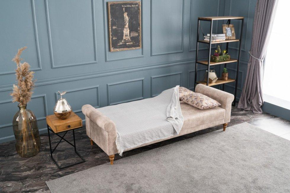 Madona Klasik Yataklı Üçlü Koltuk